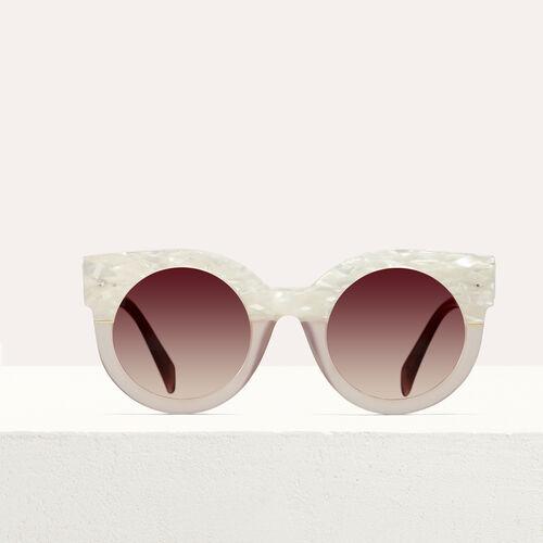 """마쥬 MAJE SG010740 Sonnenbrille in """"Cat Eye""""-Form - See all"""