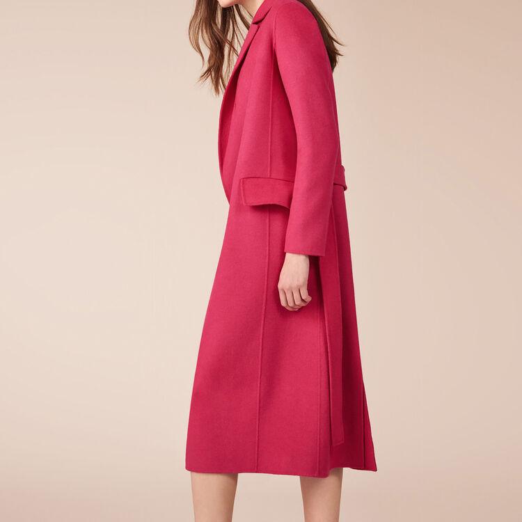 Mantel aus einer Wollmischung - Mäntel - MAJE