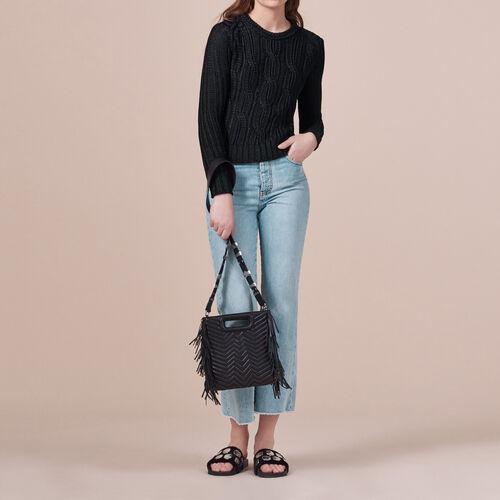 Pullover aus Rippenstrick - Strickwaren - MAJE
