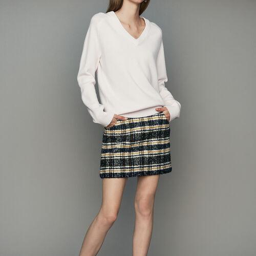 [50% SALE] 18 F/W 마쥬 스웨터 MAJE METRO Oversize-Pullover aus Wolle und Kaschmir - Strickwaren