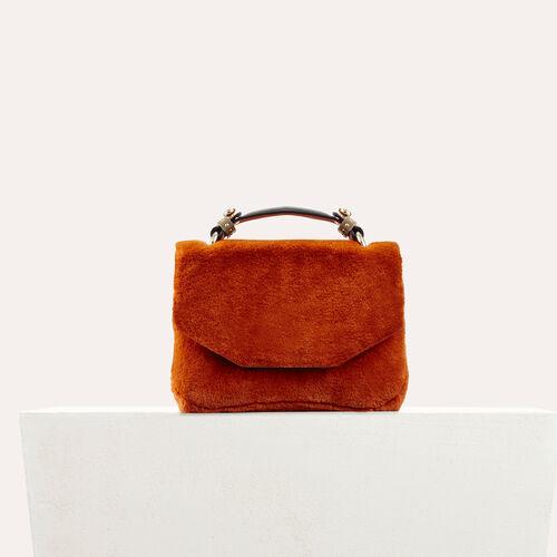 Evening Tasche aus Kunstpelz - Schultertaschen - MAJE