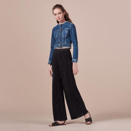 Kurze Jeans-Jacke - Jacken - MAJE