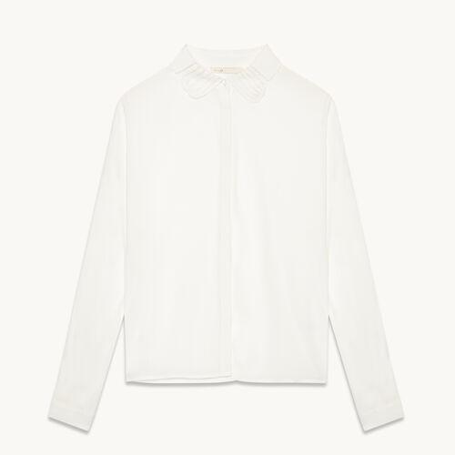 Bluse aus Seidengemisch - Tops - MAJE