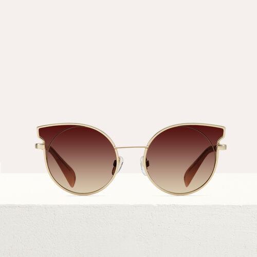 """마쥬 MAJE SG010755 Sonnenbrille in """"Cat Eye""""-Form - See all,Rosa"""