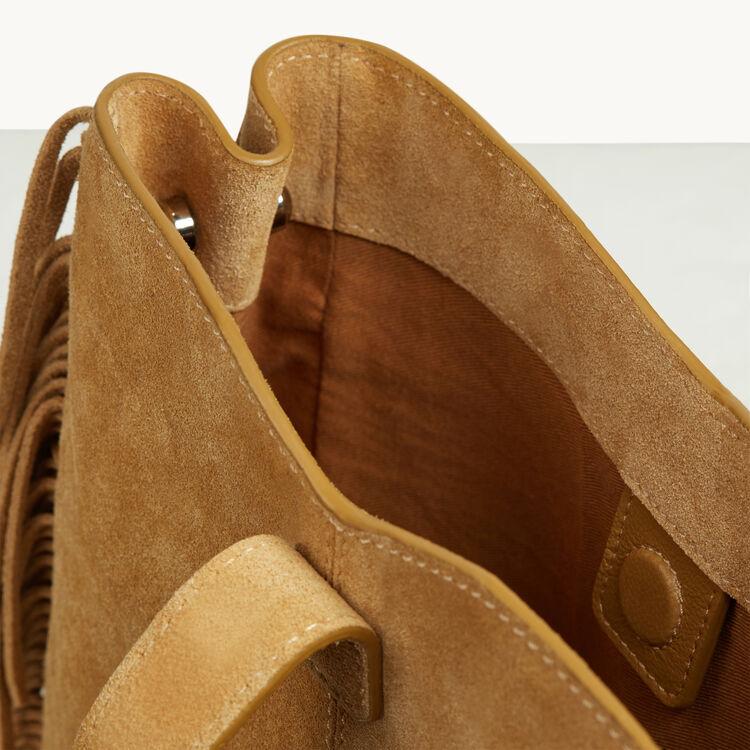 M Tasche mit Feston-Schließe - Last Chance - MAJE