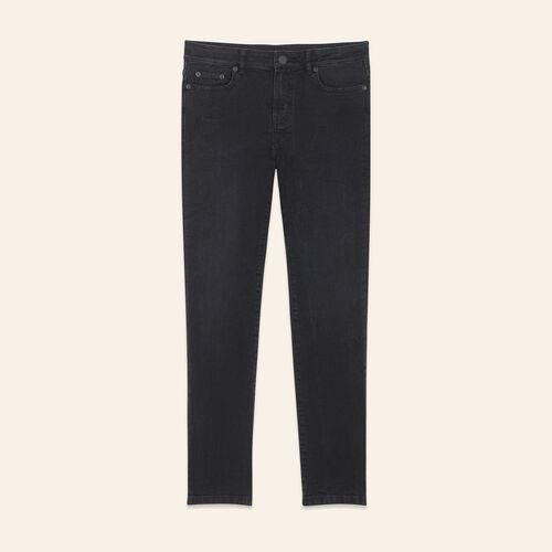 Kurze Jeans in geradem Schnitt - Jeans - MAJE