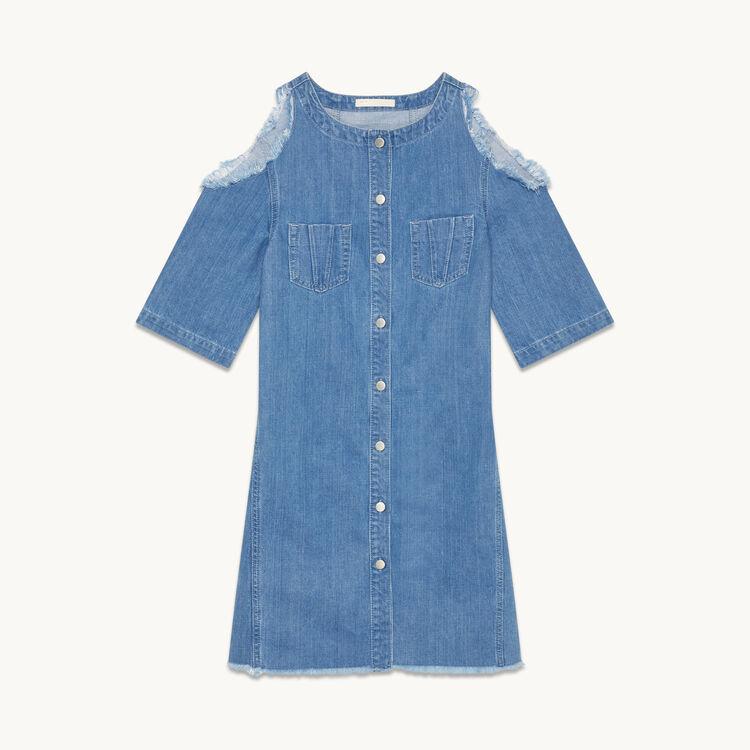 Kleid aus Jeans - Kleider - MAJE