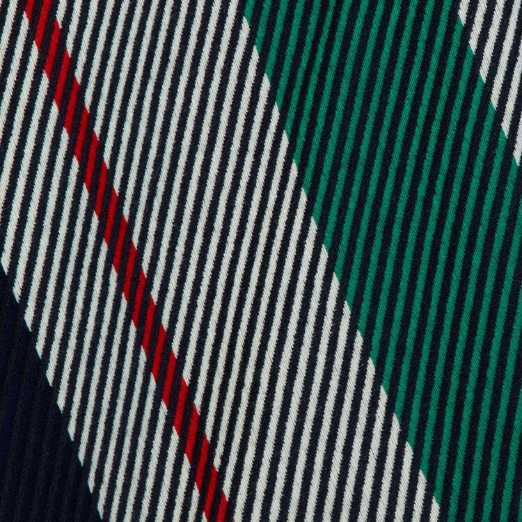 Poncho aus Jacquard-Strick : Neue Kollektion farbe Blau