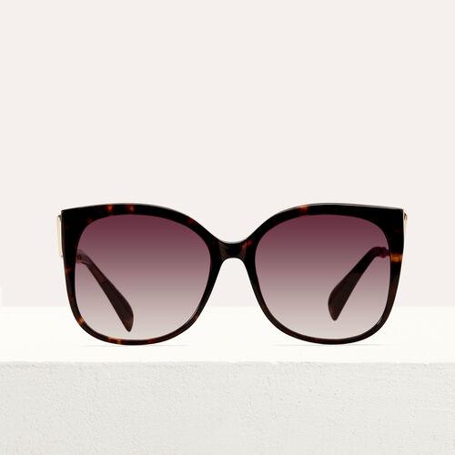 Sonnenbrille im Retrostil : Brillen farbe ECAILLE