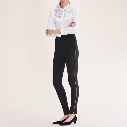 Leggings mit mehreren Reißverschlüssen - Hosen - MAJE