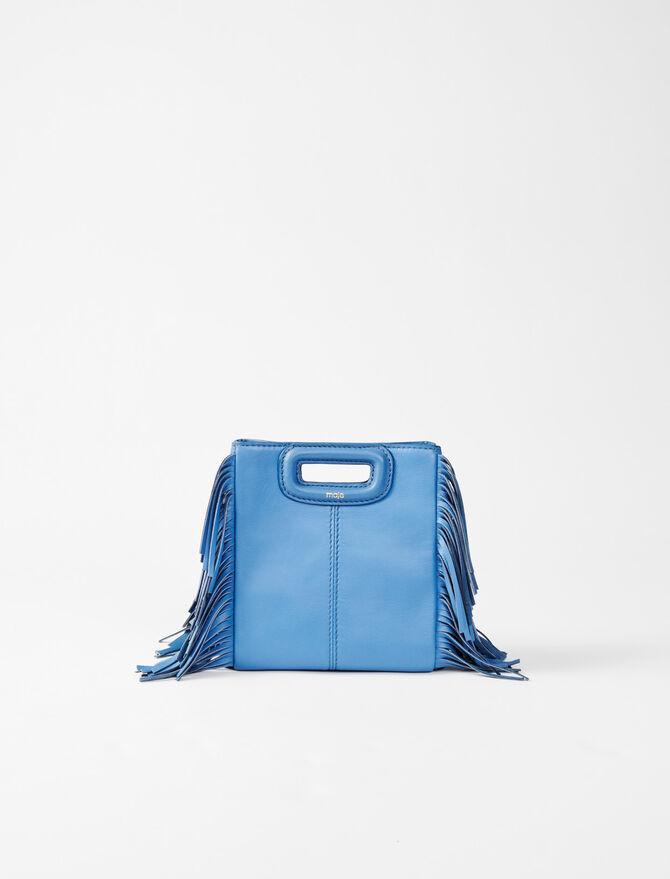 M Mini-Tasche aus Leder - Sommer Kollektion - MAJE