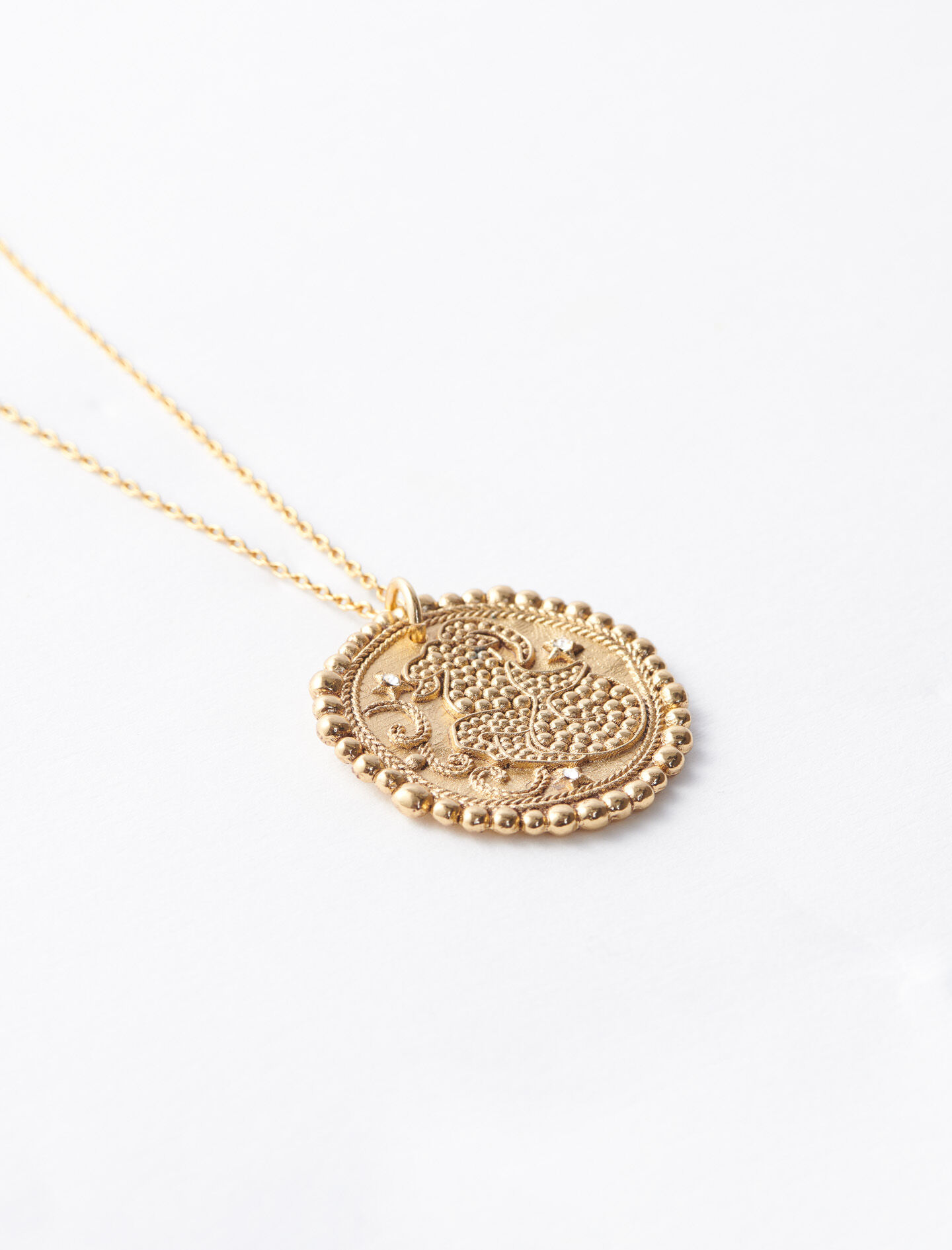 Sternzeichen Steinbock Halskette