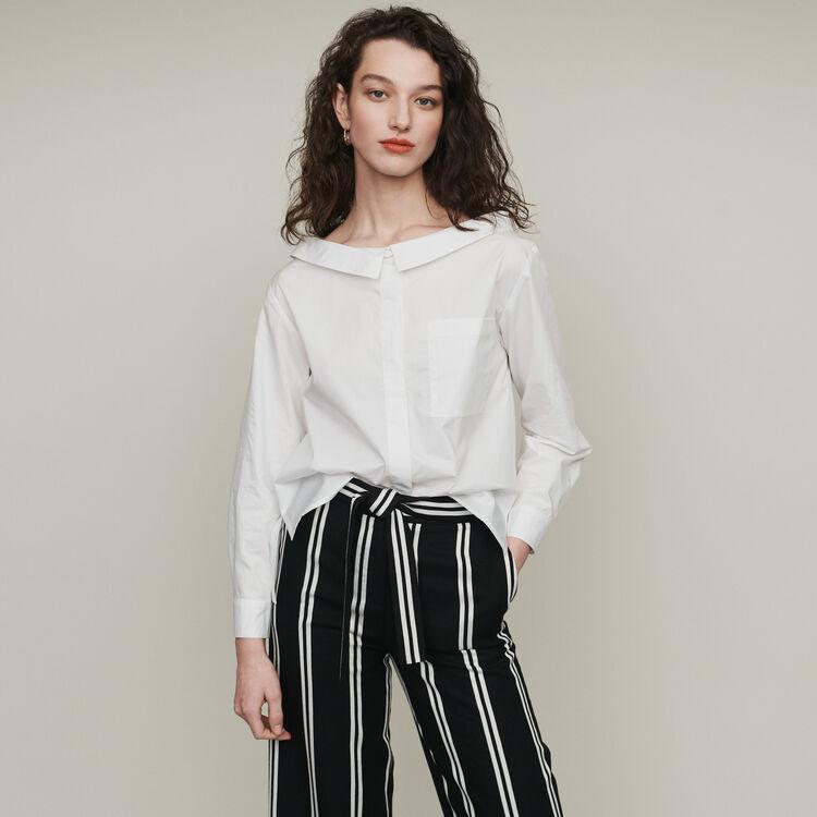 Schulterfreies Top : Tops & Hemden farbe Ecru
