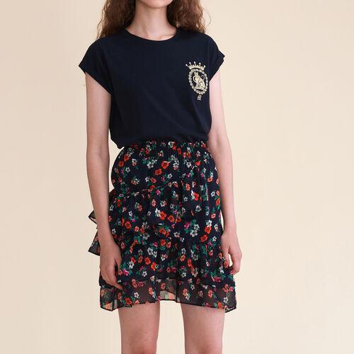 Falda estampada : Jupes & Shorts farbe Print