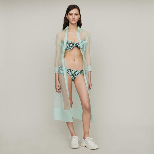 2-Teiliger Bikini mit Bustier : Die ganze Kollektion farbe IMPRIME