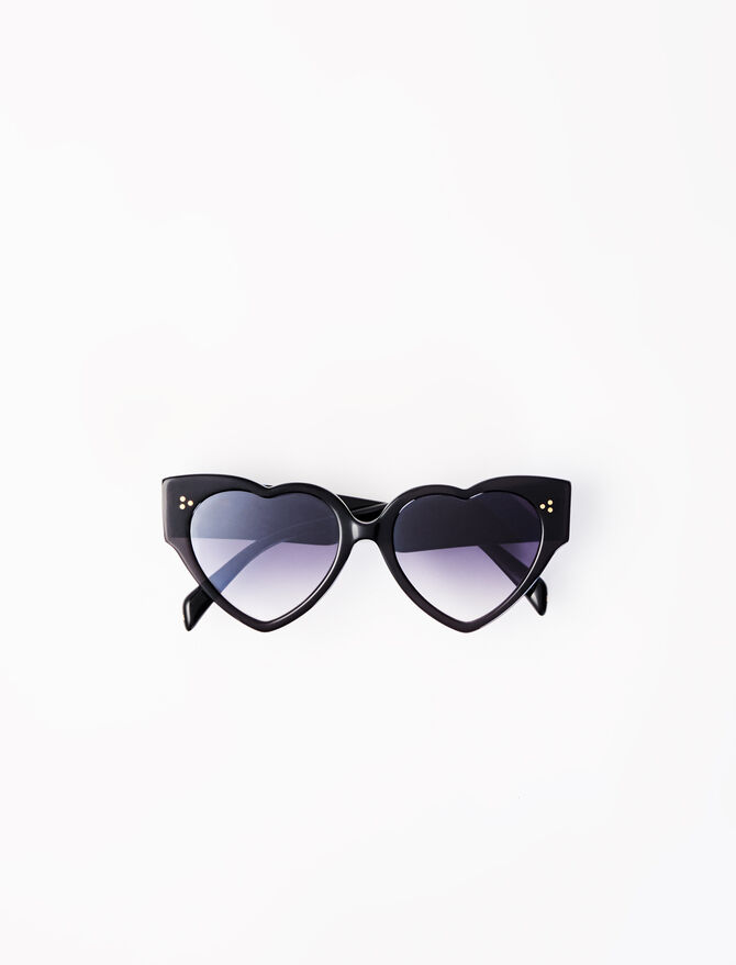 Sonnenbrille in Herzform