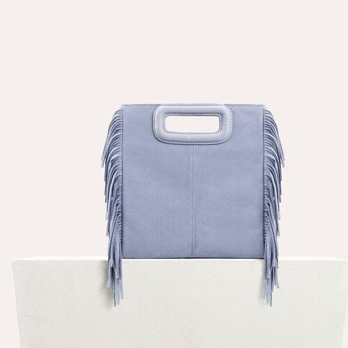 M Tasche aus Veloursleder : -40% farbe Rosa