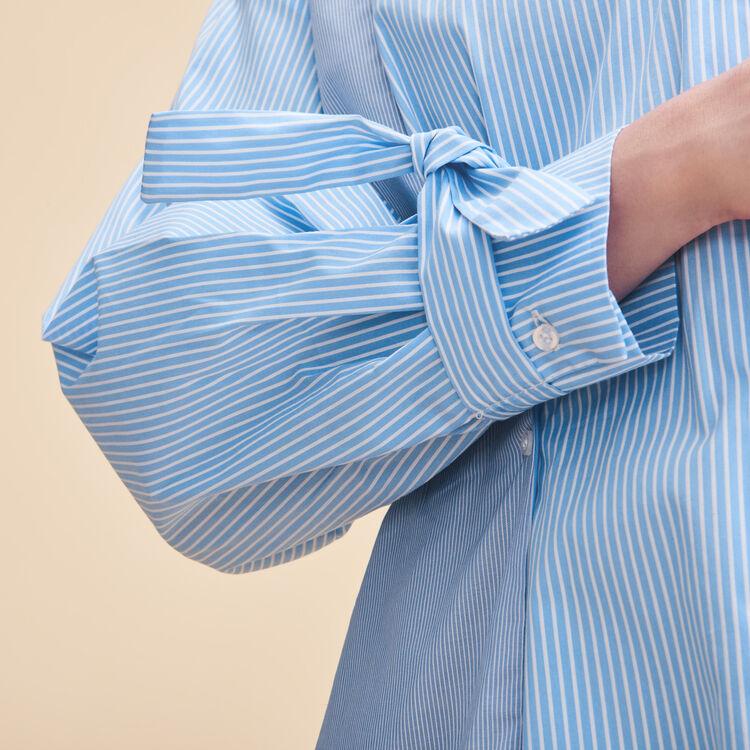 Gestreiftes Hemdkleid - Alles einsehen - MAJE