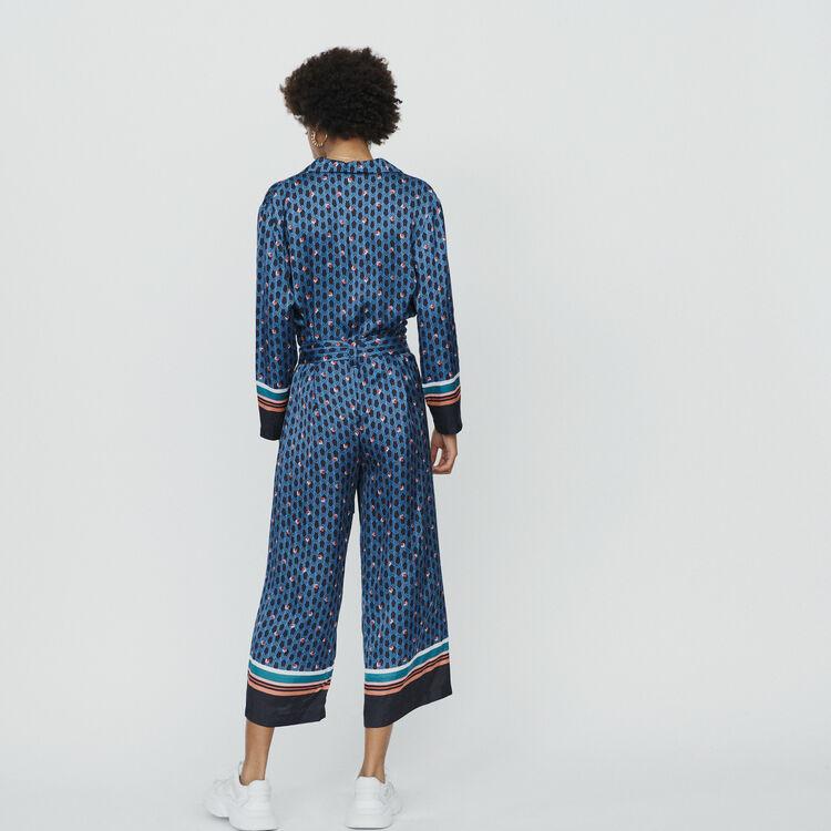 Jumpsuit mit Monogramm Print : Hosen & Jeans farbe IMPRIME