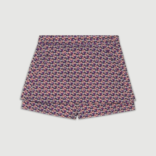 Jacquard cropped skirt : Röcke & Shorts farbe Jacquard