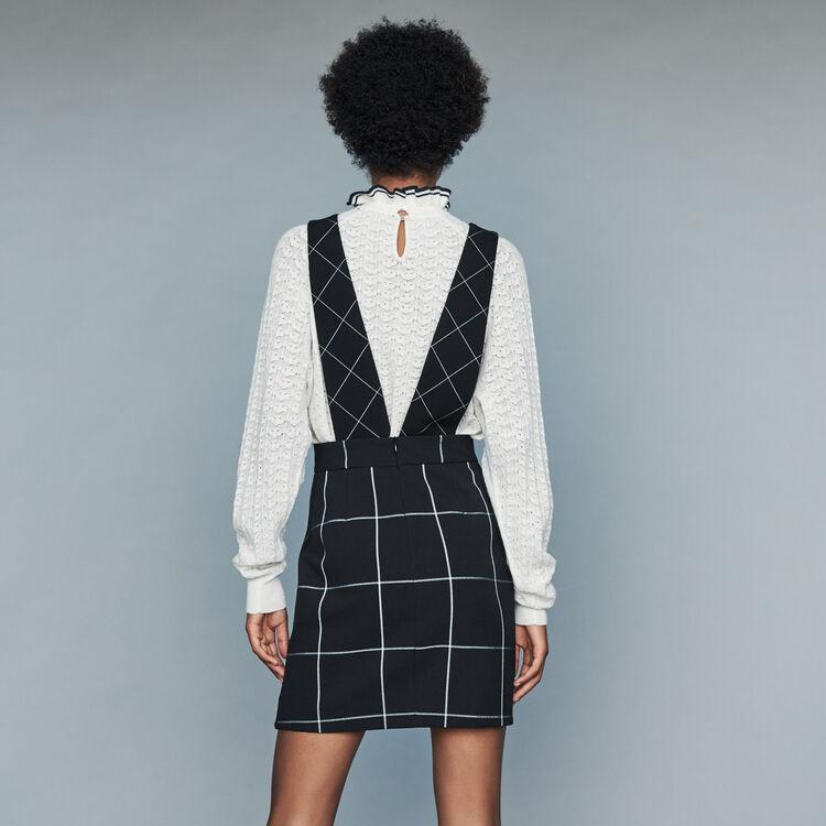Kleid mit breiten Trägern : Bekleidung farbe CARREAUX