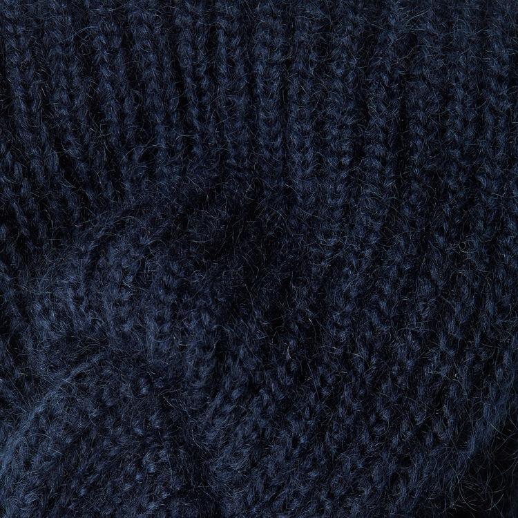 Haarband aus Wollgemisch : Accessoires farbe Marineblau