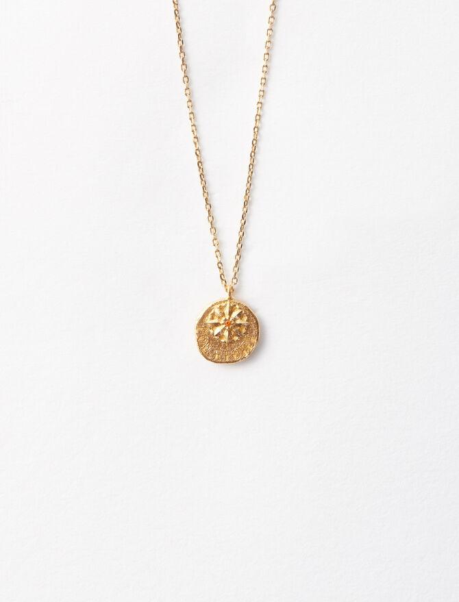 Vergoldete 'Mon étoile' Halskette -  - MAJE
