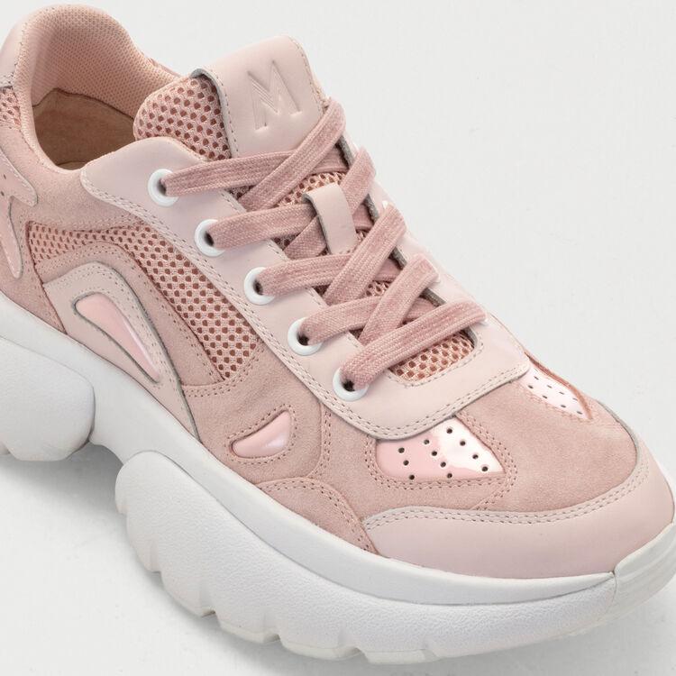 W20 Ledersneaker : Sneakers farbe Rosa