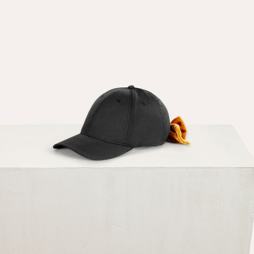 6-Panel Basecap mit Samtschleife - Andere Accessoires - MAJE