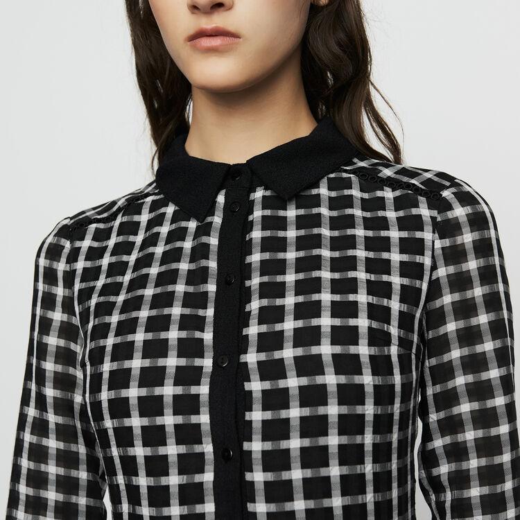 Hemdkleid mit Karos : Kleider farbe CARREAUX
