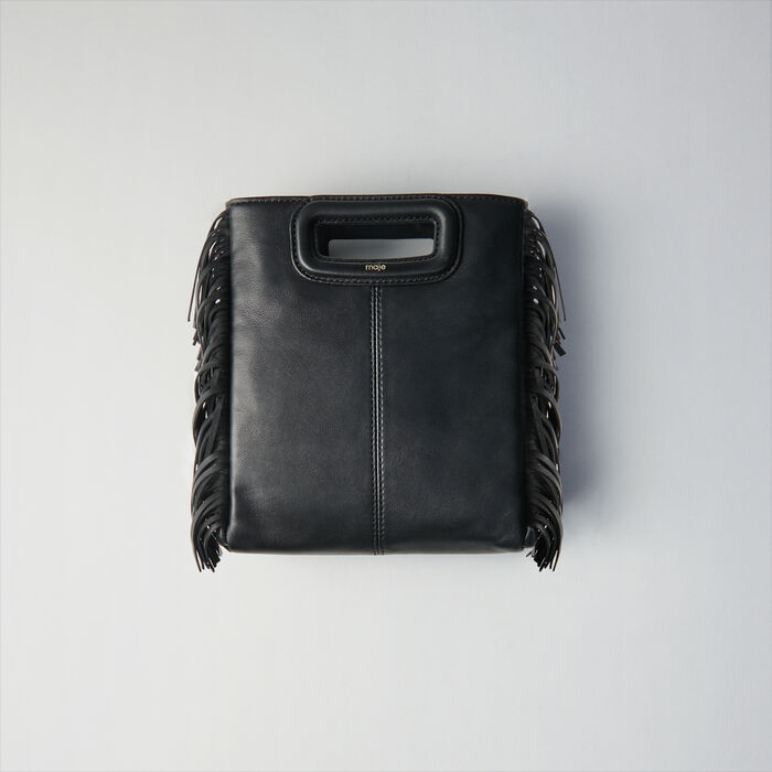 Leather M bag : M Tasche farbe Schwarz