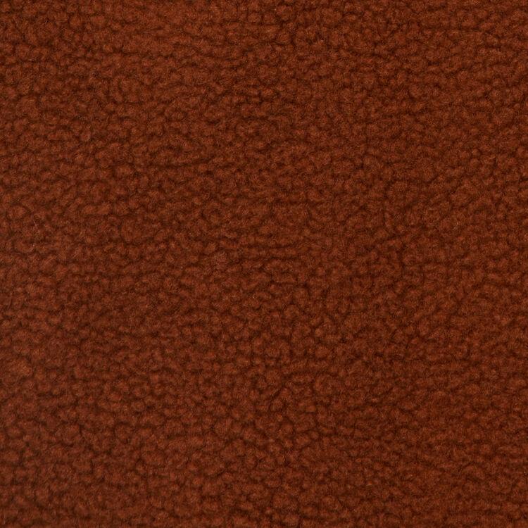 Langer Kunstfellmantel : Mäntel farbe Braun