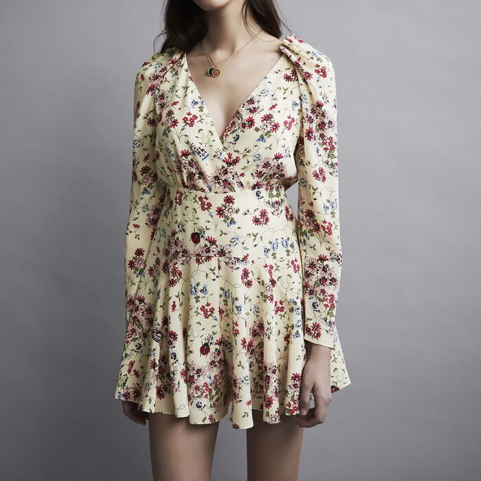 Bedruckter Seiden-Jumpshort : Röcke & Shorts farbe IMPRIME