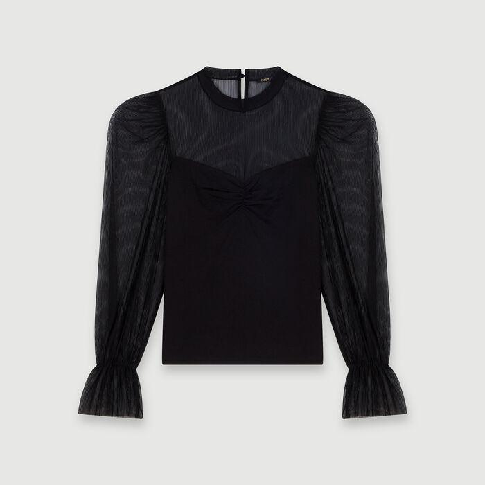 Tee-shirt trompe-l'œil : Tops & Hemden farbe Schwarz