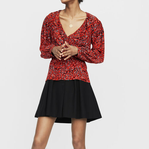 Bluse mit Leoparden-Print : Neue Kollektion farbe IMPRIME