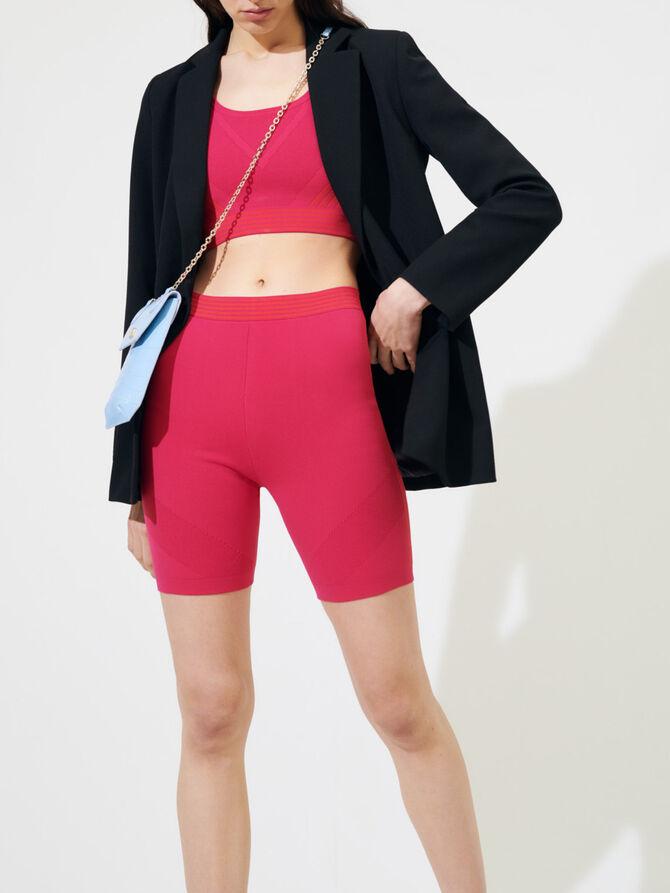 Strickshorts im Radlerhosenstil - Röcke & Shorts - MAJE
