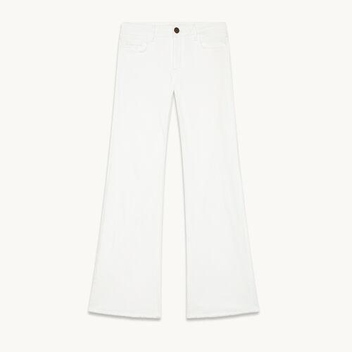 Jeans aus Stretchbaumwolle - null - MAJE