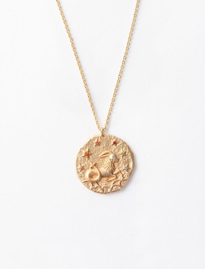 Sternzeichen Steinbock Halskette -  - MAJE