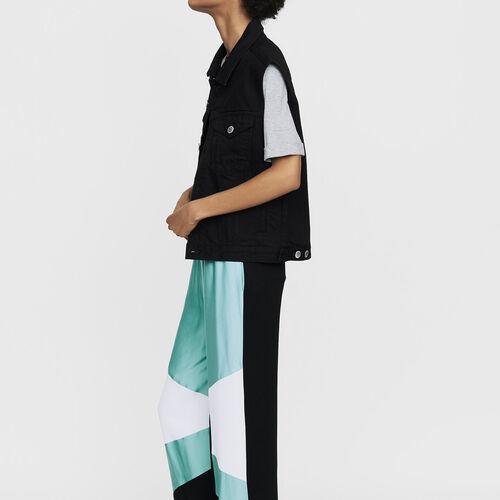 Weite bunte Hose : Neue Kollektion farbe Mehrfarbigen
