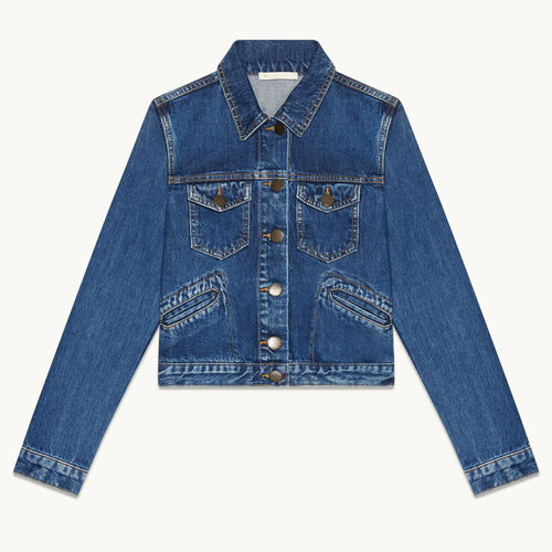 Blouson aus Jeans - null - MAJE