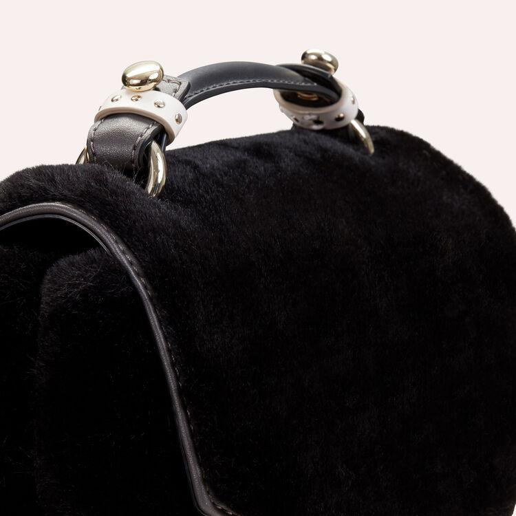 Bolso de noche de falso pelo : LDance Taschen farbe Schwarz