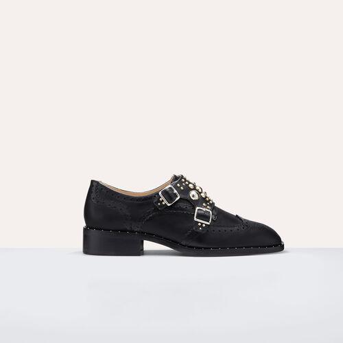 Derbies mit Nieten : Accessoires farbe Schwarz