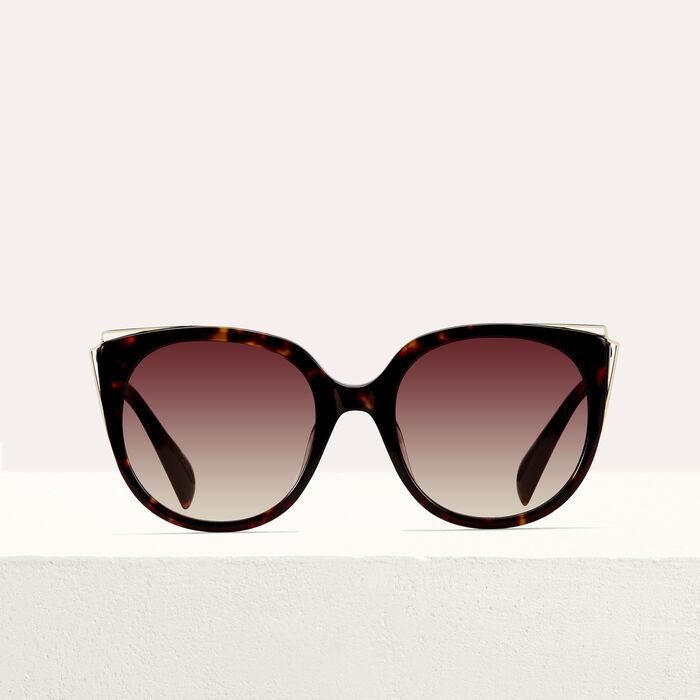 Sonnenbrille aus Metall und Acetat : Alles einsehen farbe ECAILLE