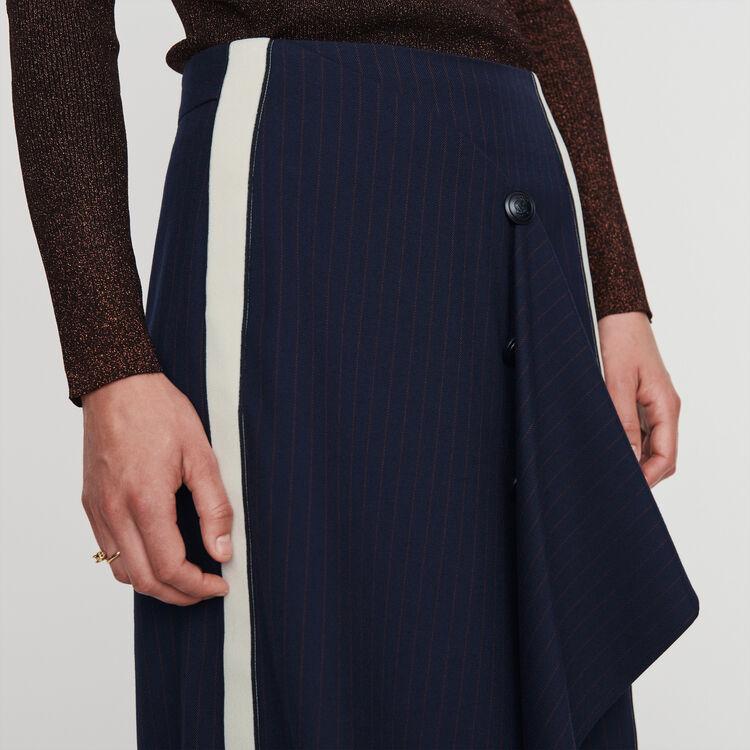Tennis Rock mit Streifen : Röcke & Shorts farbe Marineblau