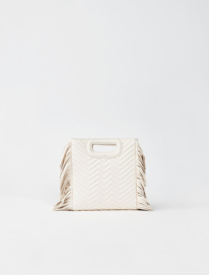 M Mini-Tasche aus Steppleder -  - MAJE