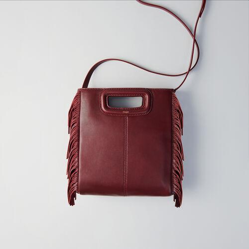M Leder Tasche : M Tasche farbe Burgunderrot
