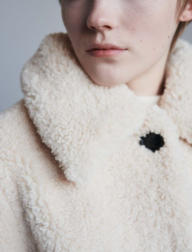 Faux fur coat - Jacken & Blazers - MAJE