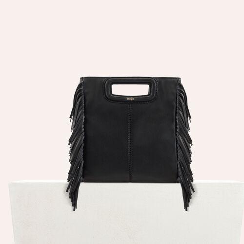 M Tasche aus Lammleder : M Tasche farbe Schwarz