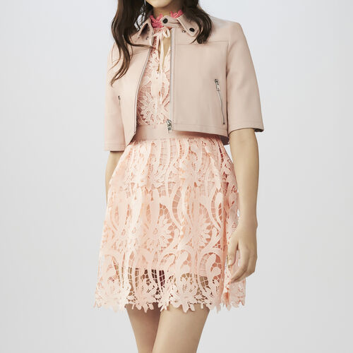 Mini-Lederjacke : Jacken farbe Rosa