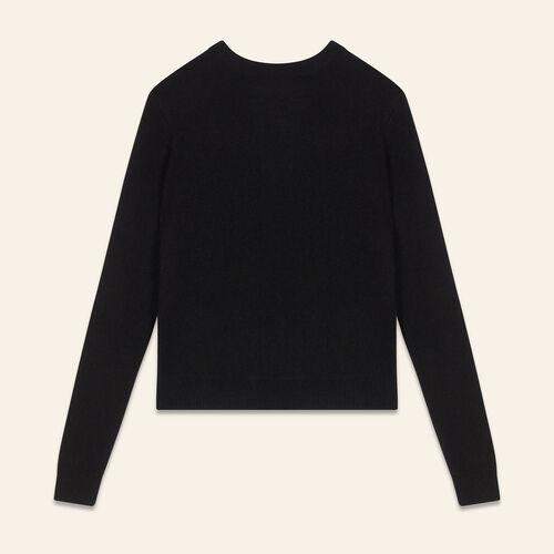Rückenfreier Angorapullover : Pulls & Cardigans farbe Himmelblau